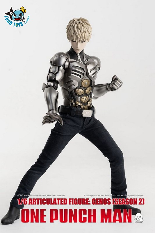 Threezero ONE PUNCH MAN 一拳超人 – GENOS 魔鬼生化人 傑諾斯(SEASON 2 第二季Ver.)-03