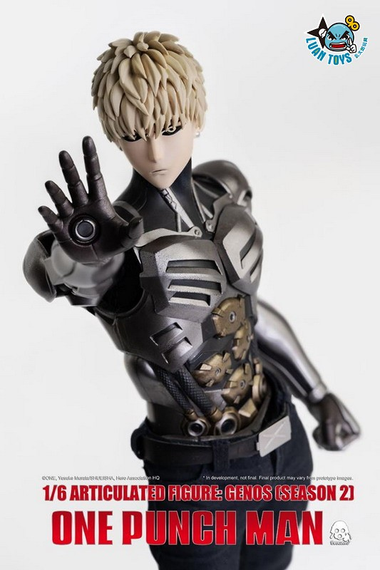 Threezero ONE PUNCH MAN 一拳超人 – GENOS 魔鬼生化人 傑諾斯(SEASON 2 第二季Ver.)-04