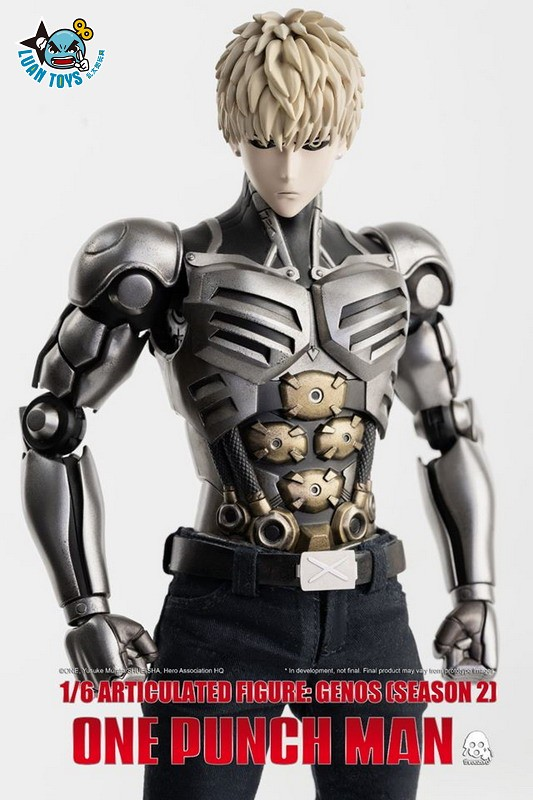 Threezero ONE PUNCH MAN 一拳超人 – GENOS 魔鬼生化人 傑諾斯(SEASON 2 第二季Ver.)-05
