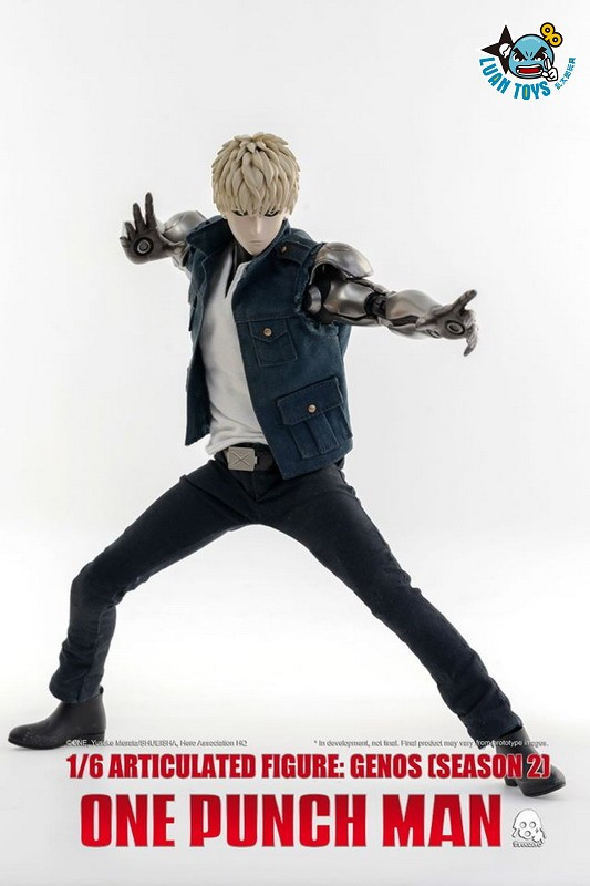 Threezero ONE PUNCH MAN 一拳超人 – GENOS 魔鬼生化人 傑諾斯(SEASON 2 第二季Ver.)-09
