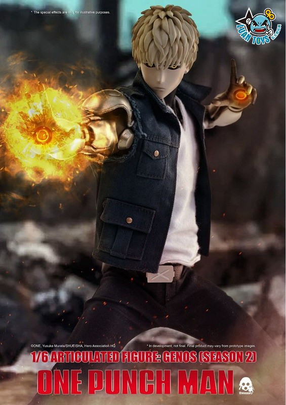Threezero ONE PUNCH MAN 一拳超人 – GENOS 魔鬼生化人 傑諾斯(SEASON 2 第二季Ver.)-11