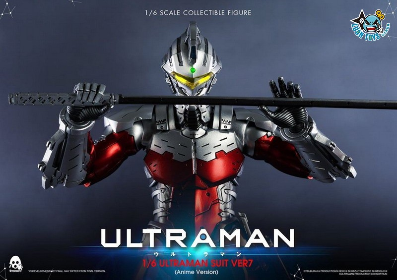 Threezero ULTRAMAN 超人力霸王 – ULTRAMAN SUIT Ver7 賽文(ANIME 動畫版Ver.)-02