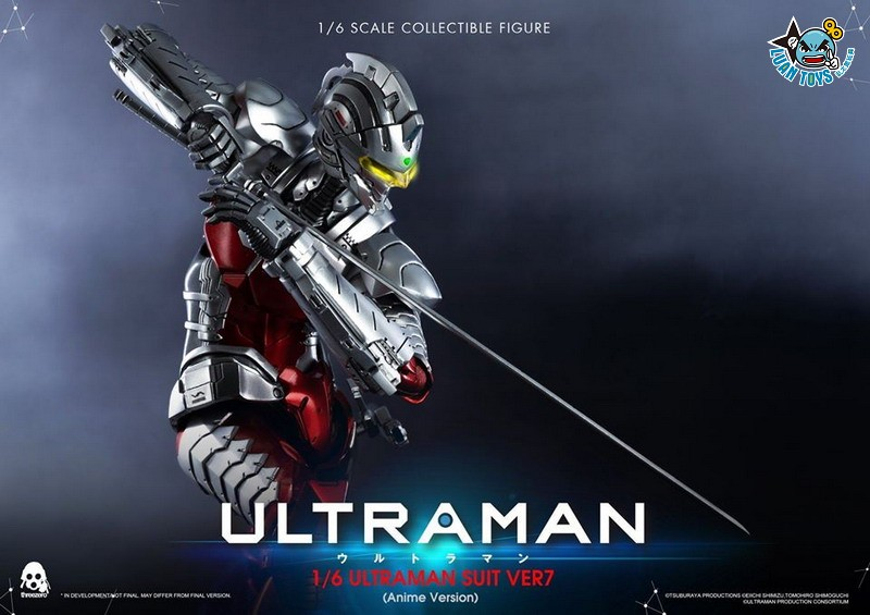 Threezero ULTRAMAN 超人力霸王 – ULTRAMAN SUIT Ver7 賽文(ANIME 動畫版Ver.)-03
