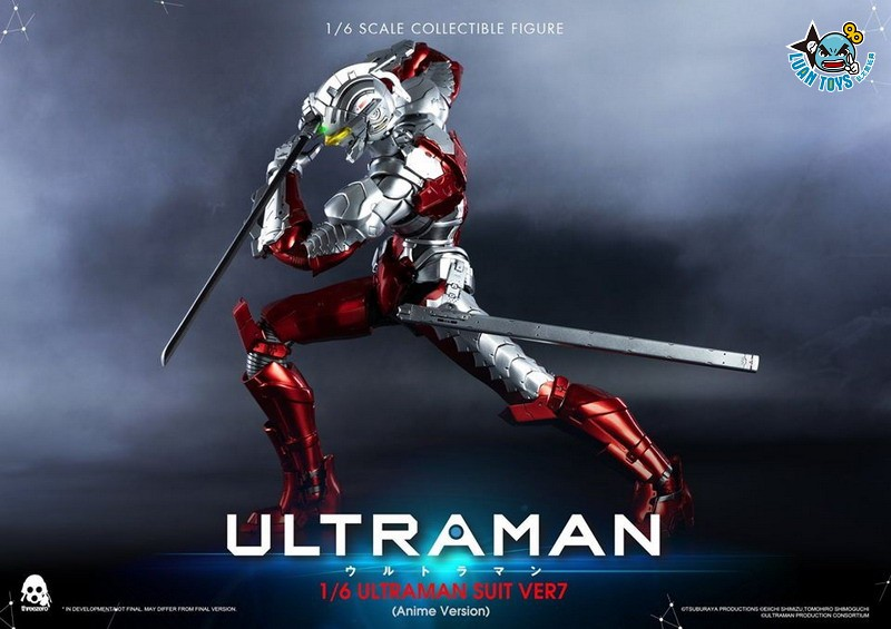 Threezero ULTRAMAN 超人力霸王 – ULTRAMAN SUIT Ver7 賽文(ANIME 動畫版Ver.)-04