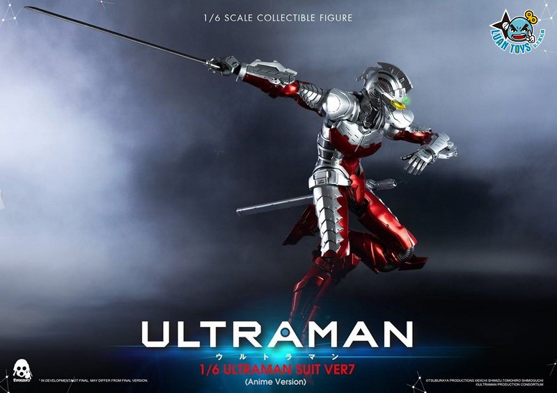 Threezero ULTRAMAN 超人力霸王 – ULTRAMAN SUIT Ver7 賽文(ANIME 動畫版Ver.)-05