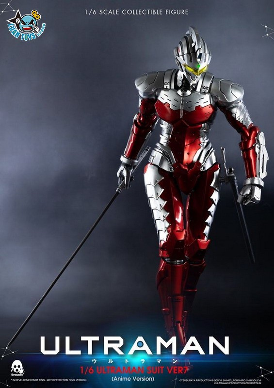 Threezero ULTRAMAN 超人力霸王 – ULTRAMAN SUIT Ver7 賽文(ANIME 動畫版Ver.)-06