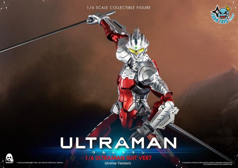 Threezero ULTRAMAN 超人力霸王 – ULTRAMAN SUIT Ver7 賽文(ANIME 動畫版Ver.)-07
