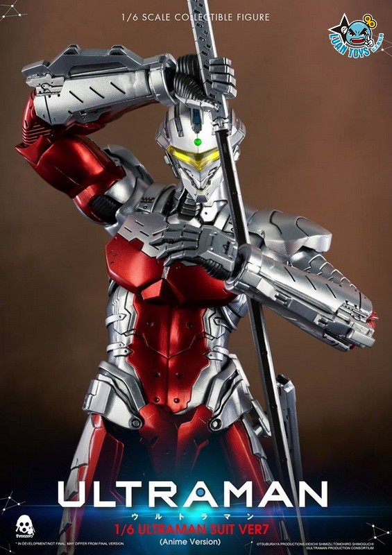 Threezero ULTRAMAN 超人力霸王 – ULTRAMAN SUIT Ver7 賽文(ANIME 動畫版Ver.)-08