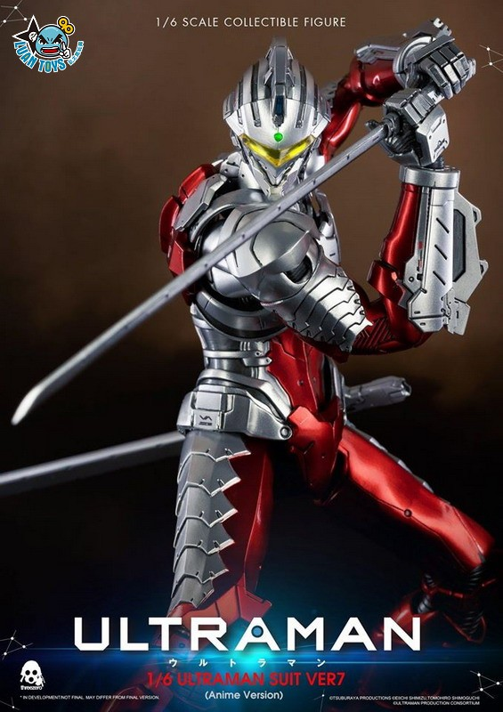 Threezero ULTRAMAN 超人力霸王 – ULTRAMAN SUIT Ver7 賽文(ANIME 動畫版Ver.)-09