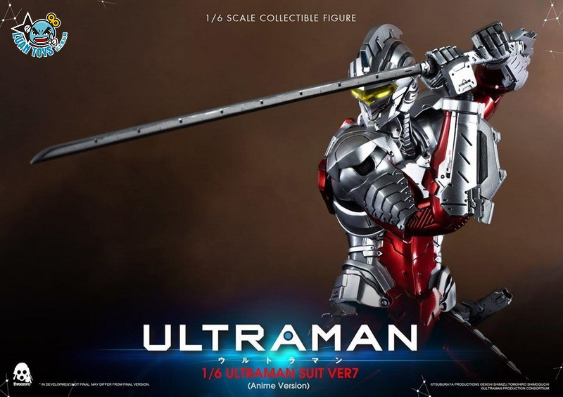 Threezero ULTRAMAN 超人力霸王 – ULTRAMAN SUIT Ver7 賽文(ANIME 動畫版Ver.)-10