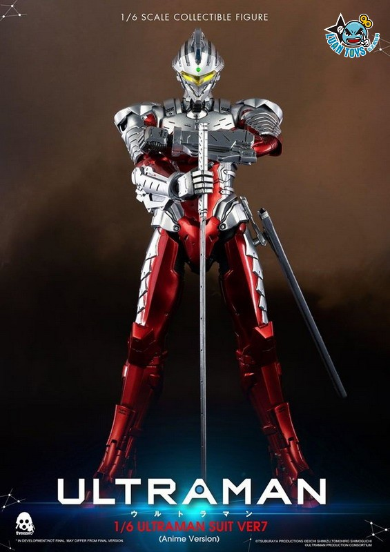 Threezero ULTRAMAN 超人力霸王 – ULTRAMAN SUIT Ver7 賽文(ANIME 動畫版Ver.)-11