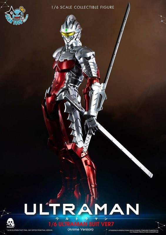 Threezero ULTRAMAN 超人力霸王 – ULTRAMAN SUIT Ver7 賽文(ANIME 動畫版Ver.)-12