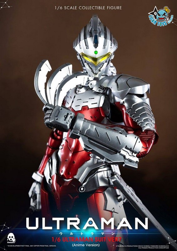 Threezero ULTRAMAN 超人力霸王 – ULTRAMAN SUIT Ver7 賽文(ANIME 動畫版Ver.)-13