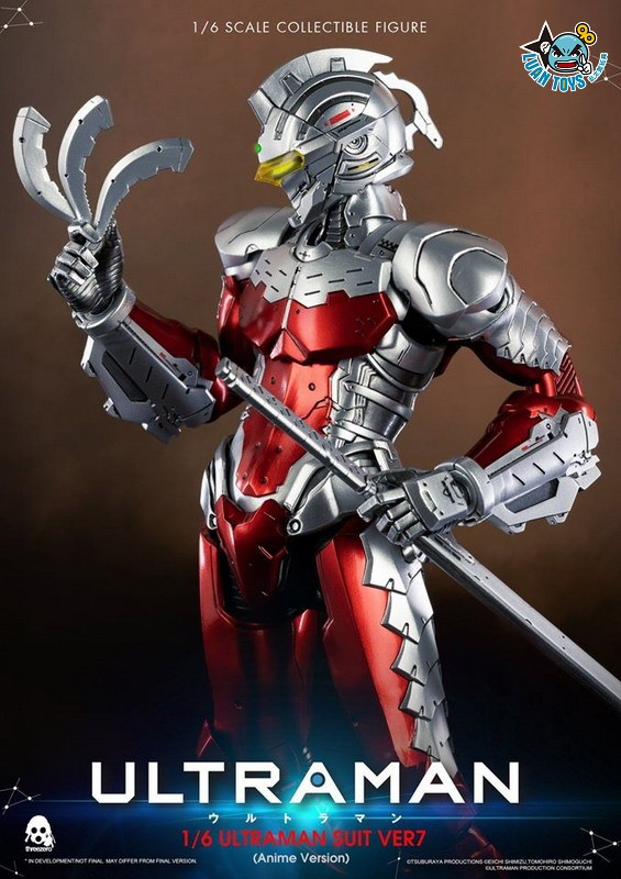 Threezero ULTRAMAN 超人力霸王 – ULTRAMAN SUIT Ver7 賽文(ANIME 動畫版Ver.)-14
