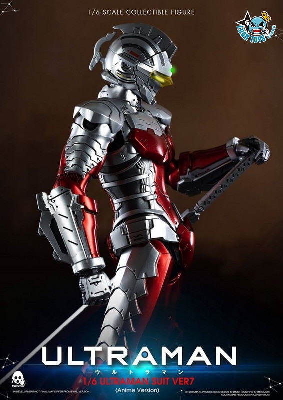 Threezero ULTRAMAN 超人力霸王 – ULTRAMAN SUIT Ver7 賽文(ANIME 動畫版Ver.)-16