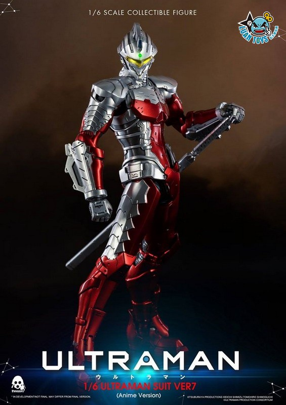 Threezero ULTRAMAN 超人力霸王 – ULTRAMAN SUIT Ver7 賽文(ANIME 動畫版Ver.)-17