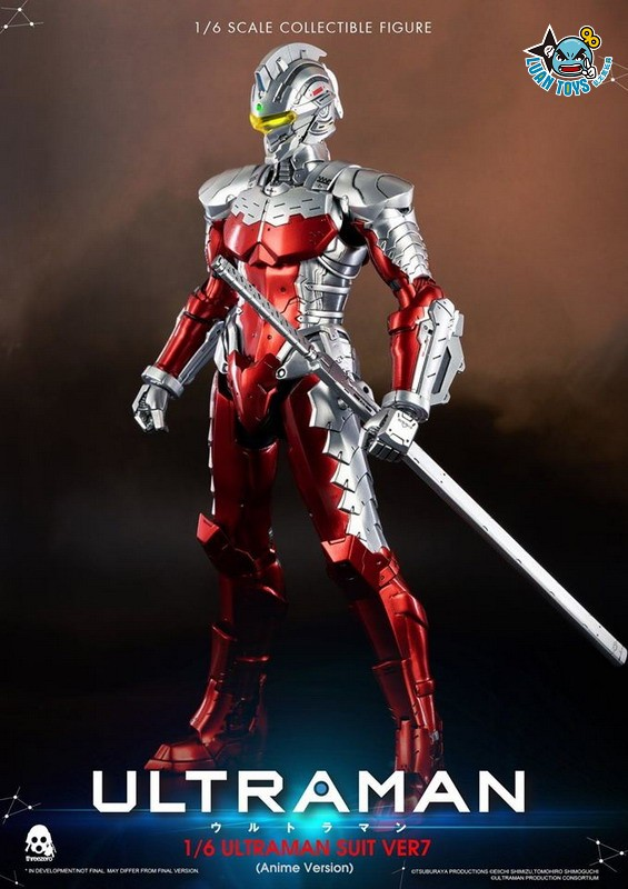 Threezero ULTRAMAN 超人力霸王 – ULTRAMAN SUIT Ver7 賽文(ANIME 動畫版Ver.)-18