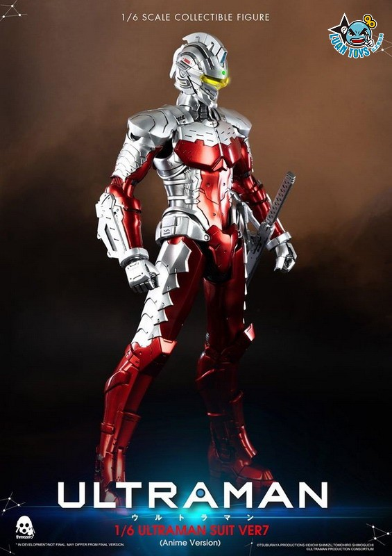 Threezero ULTRAMAN 超人力霸王 – ULTRAMAN SUIT Ver7 賽文(ANIME 動畫版Ver.)-19