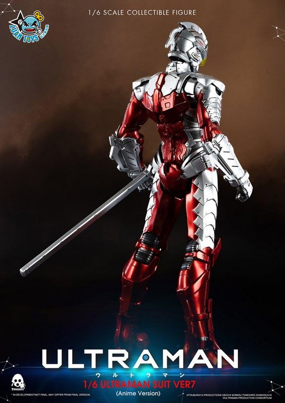 Threezero ULTRAMAN 超人力霸王 – ULTRAMAN SUIT Ver7 賽文(ANIME 動畫版Ver.)-21
