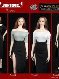 VORTOYS V1020 WOMAN'S DRESS SUIT 2.0 時尚服裝配件組-01