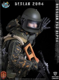 CRAZY FIGURE LW009 RUSSIAN SPETSNAZ FSB ALPHA GROUP SNIPER 俄羅斯聯邦安全局阿爾法特種部隊狙擊手-02