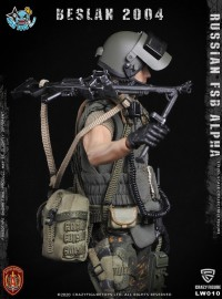 CRAZY FIGURE LW010 RUSSIAN SPETSNAZ FSB ALPHA GROUP MACHINE GUNNER 俄羅斯聯邦安全局阿爾法特種部隊機槍兵-12