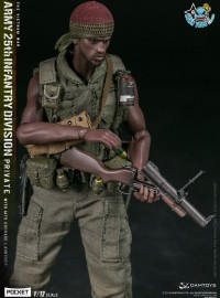 DAMTOYS  PES011 US ARMY 25th INFANTRY DIVISION PRIVATE(WITH M79 GRENADE LAUNCHER)  越戰美國陸軍第25步兵師-01