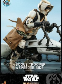 HOT TOYS THE MANDALORIAN 曼達洛人 – SCOUT TROOPER & SPEEDER BIKE 帝國斥候偵察兵 & 反重力機車-15