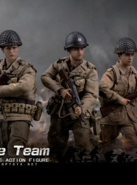 POPTOYS CMS004 WWII US ARMY 2nd RANGER BATTALION & 101st AIRBORNE DIVISION 506th INFANTRY REGIMENT SET 二戰美國陸軍遊騎兵第二營C連 & 第101空降師506團B連(搶救雷恩大兵套裝組)-01