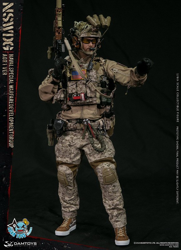 DAMTOYS 78065 US NSWDG(NAVAL SPECIAL WARFARE DEVELOPMENT GROUP) 美國海軍特種作戰發展大隊(AOR1迷彩版Ver.)-03
