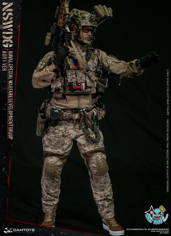 DAMTOYS 78065 US NSWDG(NAVAL SPECIAL WARFARE DEVELOPMENT GROUP) 美國海軍特種作戰發展大隊(AOR1迷彩版Ver.)-04