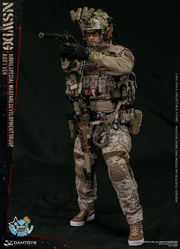 DAMTOYS 78065 US NSWDG(NAVAL SPECIAL WARFARE DEVELOPMENT GROUP) 美國海軍特種作戰發展大隊(AOR1迷彩版Ver.)-06