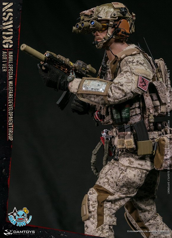 DAMTOYS 78065 US NSWDG(NAVAL SPECIAL WARFARE DEVELOPMENT GROUP) 美國海軍特種作戰發展大隊(AOR1迷彩版Ver.)-07