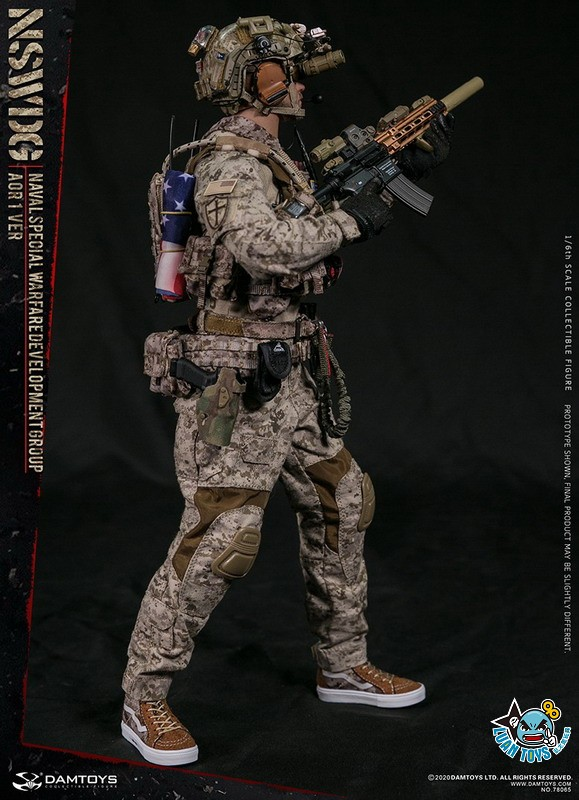 DAMTOYS 78065 US NSWDG(NAVAL SPECIAL WARFARE DEVELOPMENT GROUP) 美國海軍特種作戰發展大隊(AOR1迷彩版Ver.)-09