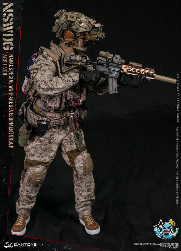 DAMTOYS 78065 US NSWDG(NAVAL SPECIAL WARFARE DEVELOPMENT GROUP) 美國海軍特種作戰發展大隊(AOR1迷彩版Ver.)-10