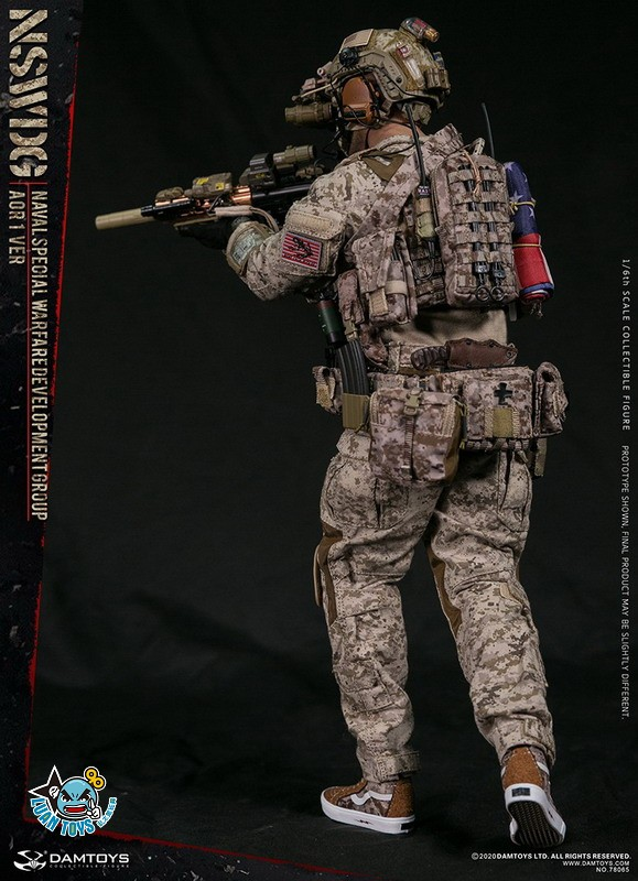 DAMTOYS 78065 US NSWDG(NAVAL SPECIAL WARFARE DEVELOPMENT GROUP) 美國海軍特種作戰發展大隊(AOR1迷彩版Ver.)-11