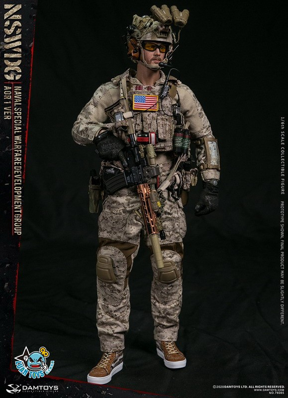 DAMTOYS 78065 US NSWDG(NAVAL SPECIAL WARFARE DEVELOPMENT GROUP) 美國海軍特種作戰發展大隊(AOR1迷彩版Ver.)-12