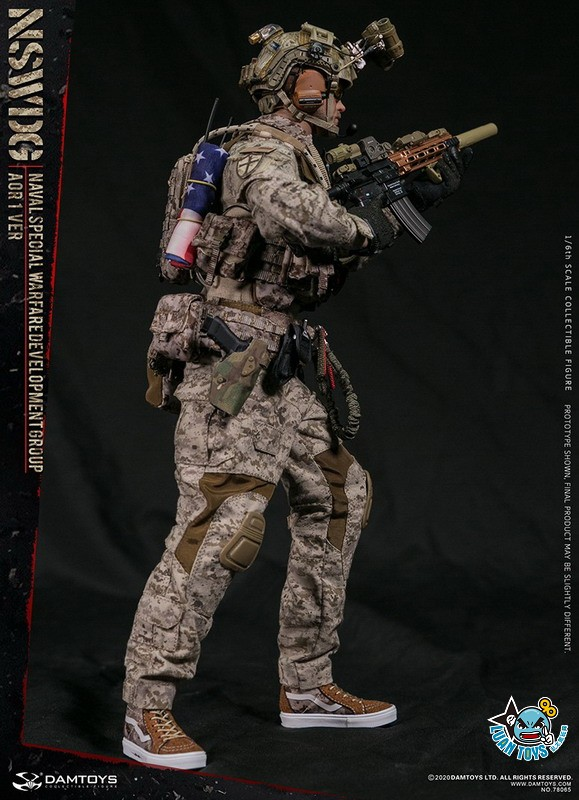 DAMTOYS 78065 US NSWDG(NAVAL SPECIAL WARFARE DEVELOPMENT GROUP) 美國海軍特種作戰發展大隊(AOR1迷彩版Ver.)-13