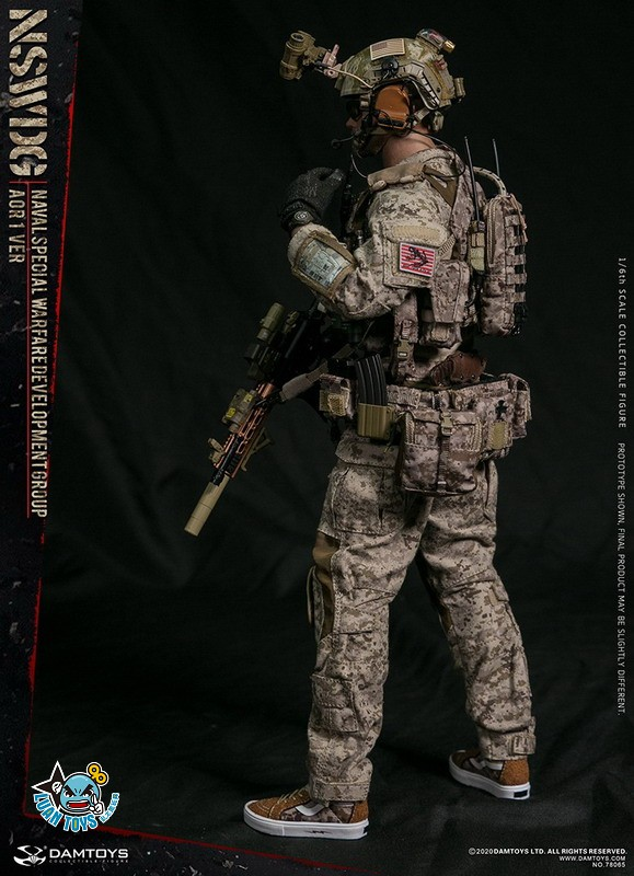 DAMTOYS 78065 US NSWDG(NAVAL SPECIAL WARFARE DEVELOPMENT GROUP) 美國海軍特種作戰發展大隊(AOR1迷彩版Ver.)-15