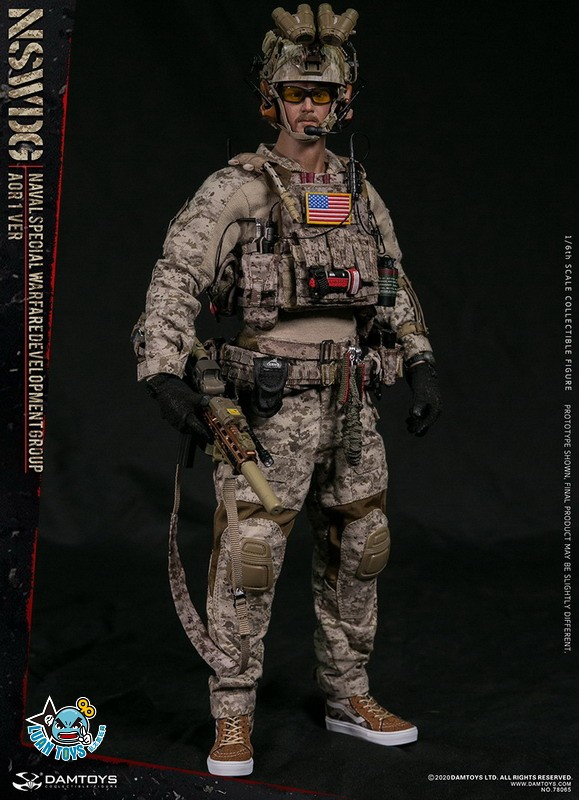 DAMTOYS 78065 US NSWDG(NAVAL SPECIAL WARFARE DEVELOPMENT GROUP) 美國海軍特種作戰發展大隊(AOR1迷彩版Ver.)-17