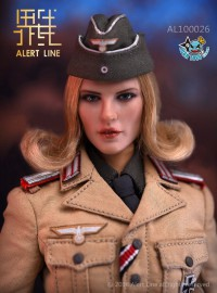 ALERT LINE AL100026 WWII GERMAN AFRIKA FEMALE OFFICER 二戰德軍北非女軍官-02