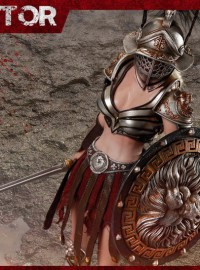 HH Model X HaoYuTOYS HH18014 IMPERIAL FEMALE GLADIATOR 帝國女角鬥士(BLACK 黑翎毛)-03