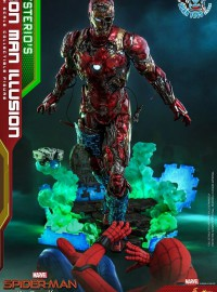 HOT TOYS MARVEL SPIDER-MAN FAR FROM HOME 蜘蛛人 離家日 – MYSTERIO'S IRON MAN ILLUSION 鋼鐵人幻象-12