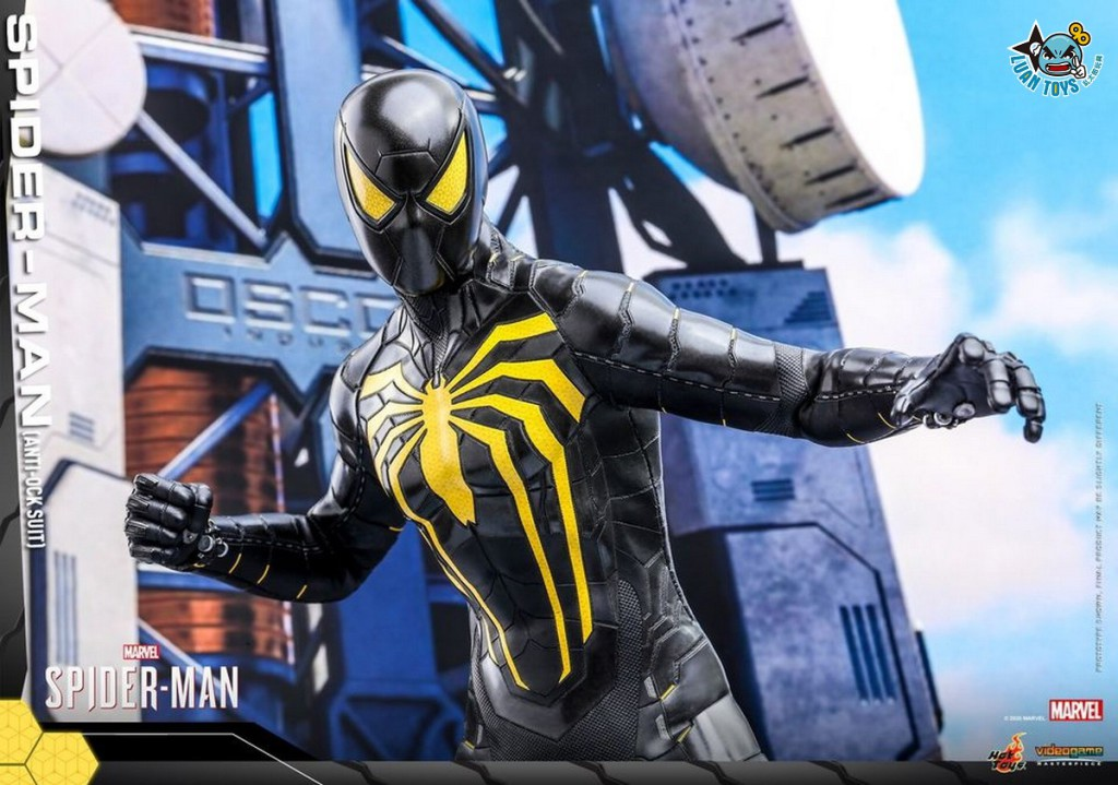 HOT TOYS MARVEL'S SPIDER-MAN 漫威 蜘蛛人 – SPIDER-MAN 蜘蛛人(ANTI-OCK SUIT 反八爪博士戰衣版)-01