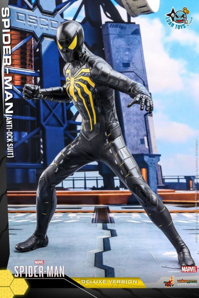 HOT TOYS MARVEL'S SPIDER-MAN 漫威 蜘蛛人 – SPIDER-MAN 蜘蛛人(ANTI-OCK SUIT 反八爪博士戰衣版)-02