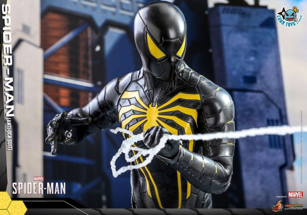 HOT TOYS MARVEL'S SPIDER-MAN 漫威 蜘蛛人 – SPIDER-MAN 蜘蛛人(ANTI-OCK SUIT 反八爪博士戰衣版)-03