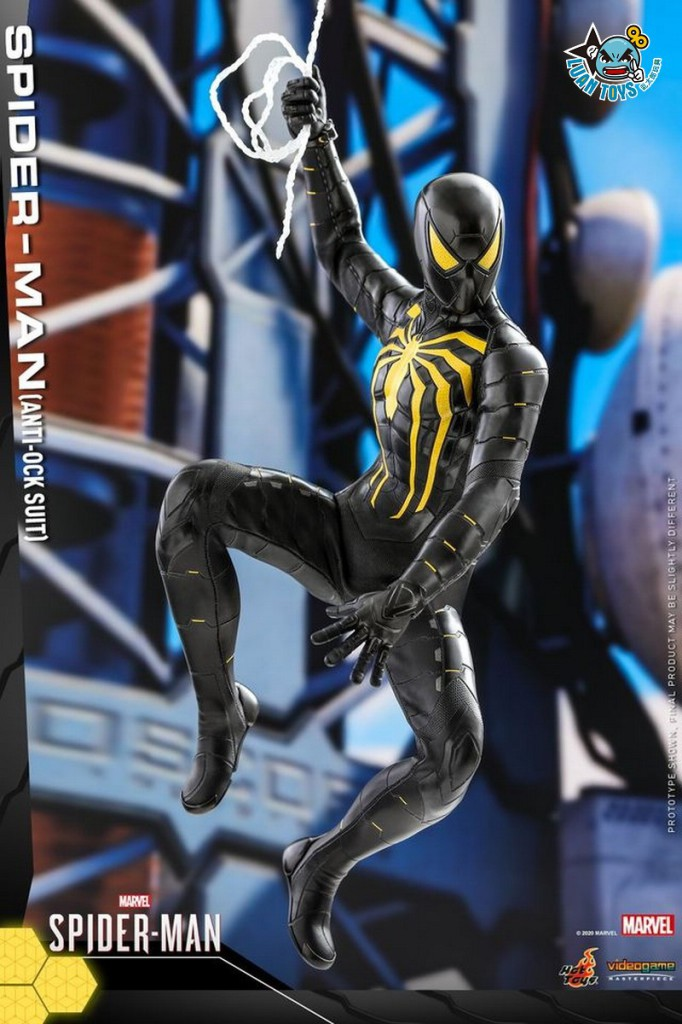 HOT TOYS MARVEL'S SPIDER-MAN 漫威 蜘蛛人 – SPIDER-MAN 蜘蛛人(ANTI-OCK SUIT 反八爪博士戰衣版)-04