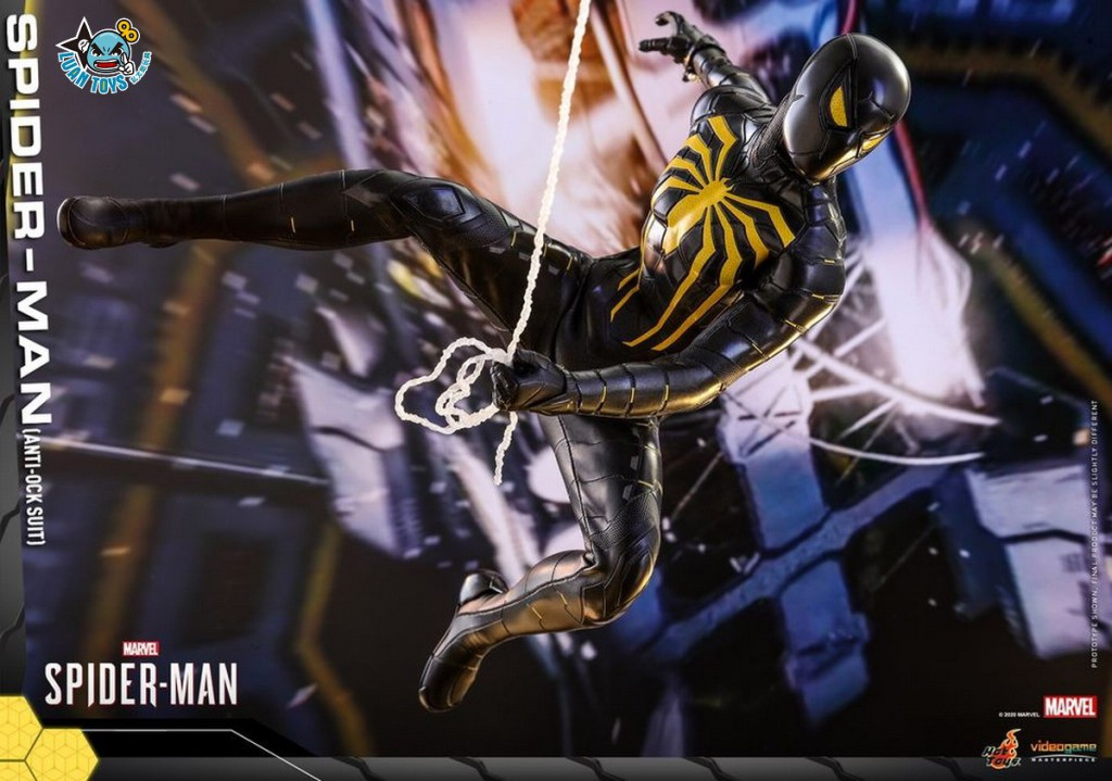 HOT TOYS MARVEL'S SPIDER-MAN 漫威 蜘蛛人 – SPIDER-MAN 蜘蛛人(ANTI-OCK SUIT 反八爪博士戰衣版)-06
