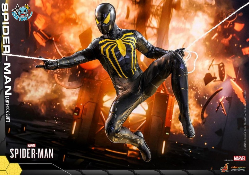 HOT TOYS MARVEL'S SPIDER-MAN 漫威 蜘蛛人 – SPIDER-MAN 蜘蛛人(ANTI-OCK SUIT 反八爪博士戰衣版)-07