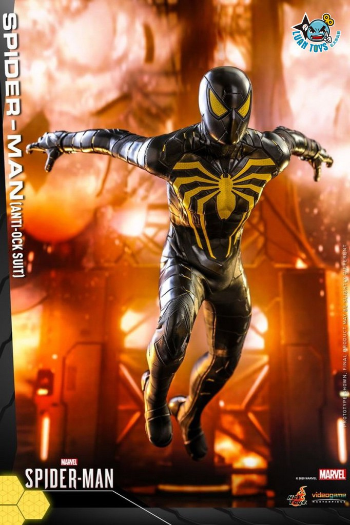 HOT TOYS MARVEL'S SPIDER-MAN 漫威 蜘蛛人 – SPIDER-MAN 蜘蛛人(ANTI-OCK SUIT 反八爪博士戰衣版)-08